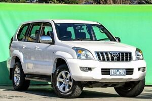 2004 Toyota Landcruiser Prado KZJ120R GXL White 4 Speed Automatic Wagon Ringwood East Maroondah Area Preview