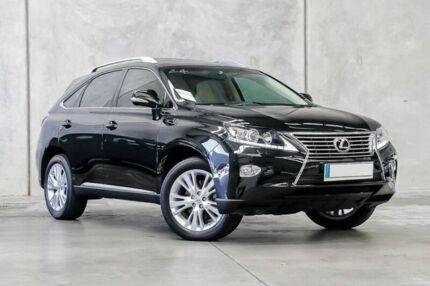 2012 Lexus RX350 GGL15R MY12 Luxury Black 6 Speed Sports Automatic Wagon