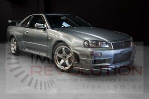 2001 Nissan Skyline BNR34 GT-R Grey Manual Coupe Bayswater Knox Area Preview
