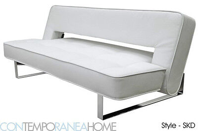 Contemporary Futon - Sofa Sleeper - Modern Full size Bed (Contemporary Full Sleeper)