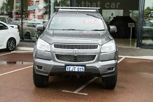 2013 Holden Colorado RG MY14 LX Crew Cab Grey 6 Speed Sports Automatic Utility Wilson Canning Area Preview