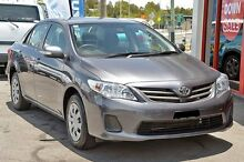 2013 Toyota Corolla ZRE152R Ascent Grey 4 Speed Automatic Sedan Springwood Logan Area Preview