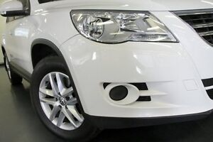 2010 Volkswagen Tiguan 5N MY11 125TSI 4MOTION White 6 Speed Manual Wagon Chatswood Willoughby Area Preview