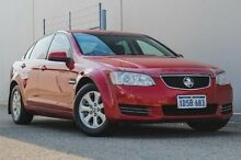 2011 Holden Commodore VE II MY12 Omega Red 6 Speed Auto Seq Sportshift Sedan Bellevue Swan Area Preview
