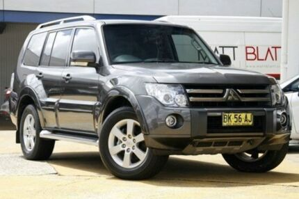 2011 Mitsubishi Pajero NT MY11 VR-X Grey 5 Speed Auto Seq Sportshift Wagon Greenacre Bankstown Area Preview