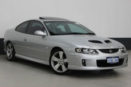 2005 Holden Monaro VZ CV8-Z Silver 6 Speed Manual Coupe Bentley Canning Area Preview