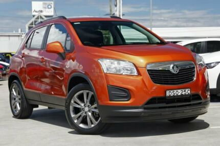 2014 Holden Trax TJ MY14 LS Orange 5 Speed Manual Wagon Gymea Sutherland Area Preview