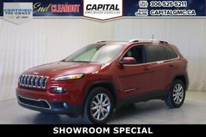 2017 Jeep Cherokee Limited 4WD*Sunroof*4X4*Leather*