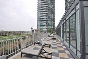 Mississauga 1 Bed Plus Den Suite 655 Sq Ft + 50 Sq Ft Balcony