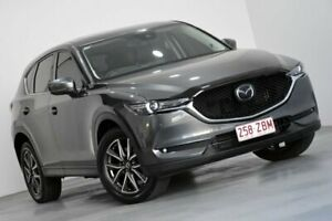 2017 Mazda CX-5 KF4W2A Akera SKYACTIV-Drive i-ACTIV AWD Grey 6 Speed Sports Automatic Wagon Kedron Brisbane North East Preview