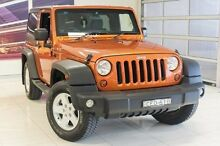 2011 Jeep Wrangler JK MY2010 Sport Orange 4 Speed Automatic Softtop Blacktown Blacktown Area Preview