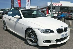 2009 BMW 335i E93 MY10 D-CT White 7 Speed Sports Automatic Dual Clutch Convertible Keysborough Greater Dandenong Preview