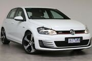 2015 Volkswagen Golf VII MY16 GTI DSG White 6 Speed Sports Automatic Dual Clutch Hatchback Southbank Melbourne City Preview