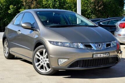 2009 Honda Civic 8th Gen MY09 SI Grey 5 Speed Automatic Hatchback Gosford Gosford Area Preview