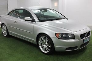 2008 Volvo C70 M Series MY08 T5 Silver 5 Speed Sports Automatic Convertible Moonah Glenorchy Area Preview