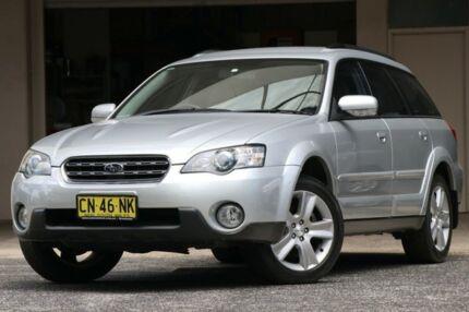 2003 Subaru Outback B4A MY04 R AWD Silver 5 Speed Sports Automatic Wagon