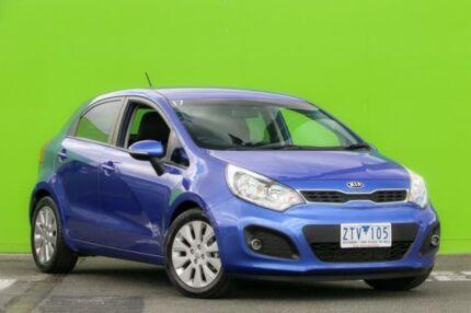 2012 Kia Rio UB MY13 SI Blue 6 Speed Sports Automatic Hatchback Ringwood East Maroondah Area Preview