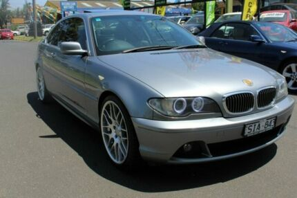 2003 BMW 325CI E46 MY2004 Steptronic Grey 5 Speed Sports Automatic Coupe West Footscray Maribyrnong Area Preview
