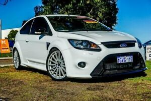 2010 Ford Focus LV RS White 6 Speed Manual Hatchback Wangara Wanneroo Area Preview