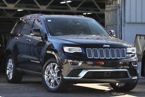 2013 Jeep Grand Cherokee WK MY14 Summit (4x4) Black 8 Speed Automatic Wagon Mosman Mosman Area Preview