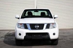 2013 Nissan Navara D40 S6 MY12 ST White 5 Speed Sports Automatic Utility Seaford Frankston Area Preview