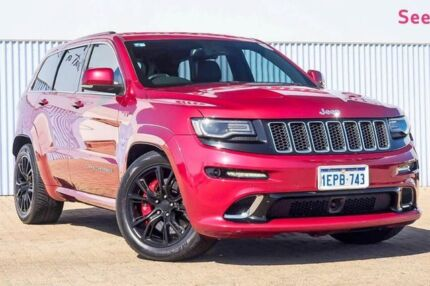 2014 Jeep Grand Cherokee WK MY2014 SRT Red 8 Speed Sports Automatic Wagon Morley Bayswater Area Preview