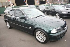2001 BMW 325I E46 MY2002 Steptronic Green 5 Speed Sports Automatic Sedan Kingsville Maribyrnong Area Preview