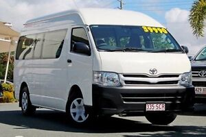 2011 Toyota Hiace TRH223R MY11 Commuter High Roof Super LWB French Vanilla 4 Speed Automatic Bus Noosaville Noosa Area Preview
