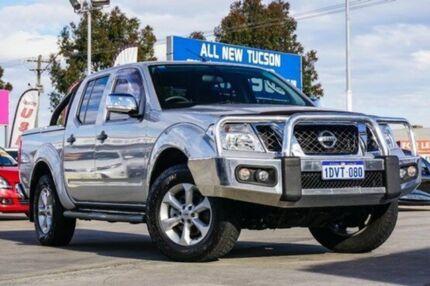 2012 Nissan Navara D40 S5 MY12 ST-X 550 Silver 7 Speed Auto Seq Sportshift Utility Bellevue Swan Area Preview