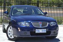 2004 Rover 75 MY03 Connoisseur Blue 5 Speed Automatic Sedan Pearce Woden Valley Preview