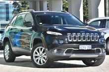 2014 Jeep Cherokee KL MY15 Limited Black 9 Speed Sports Automatic Wagon Victoria Park Victoria Park Area Preview