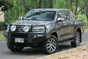 2016 Toyota Hilux GUN126R SR5 Double Cab Grey 6 Speed Sports Automatic Utility Hawthorn Mitcham Area Preview