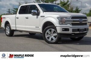 2018 Ford F-150 Platinum ONE OWNER, NO ACCIDENTS, BC CAR, POWER