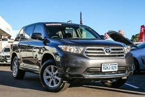 2013 Toyota Kluger GSU40R MY12 KX-R 2WD Graphite 5 Speed Sports Automatic Wagon Glendalough Stirling Area Preview