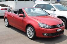 2014 Volkswagen Golf VI MY14 118TSI DSG Red 7 Speed Sports Automatic Dual Clutch Cabriolet Brookvale Manly Area Preview
