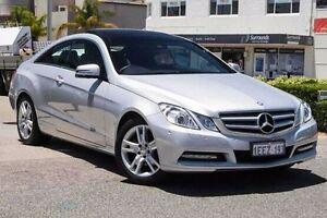 2013 Mercedes-Benz E250 C207 MY12 BlueEFFICIENCY 7G-Tronic + Avantgarde Silver 7 Speed Nedlands Nedlands Area Preview
