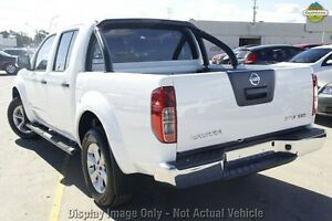2012 Nissan Navara D40 S5 MY12 ST-X 550 White 7 Speed Sports Automatic Utility Westminster Stirling Area Preview