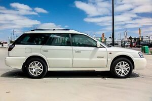 2001 Subaru Outback B3A MY02 H6 AWD White 4 Speed Automatic Wagon Pakenham Cardinia Area Preview
