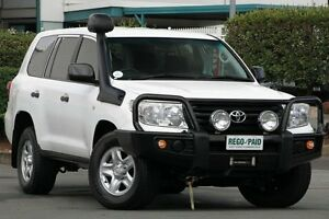 2012 Toyota Landcruiser VDJ200R MY10 GX White 6 Speed Sports Automatic Wagon Acacia Ridge Brisbane South West Preview
