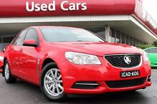 2013 Holden Commodore VF MY14 Evoke Red Hot 6 Speed Sports Automatic Sedan Liverpool Liverpool Area Preview