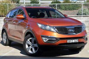 2010 Kia Sportage SL SLi(AWD) Orange 6 Speed Automatic Wagon Lisarow Gosford Area Preview
