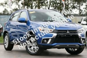 2018 Mitsubishi ASX XC MY19 ES 2WD ADAS Silver 6 Speed Constant Variable Wagon Launceston Launceston Area Preview
