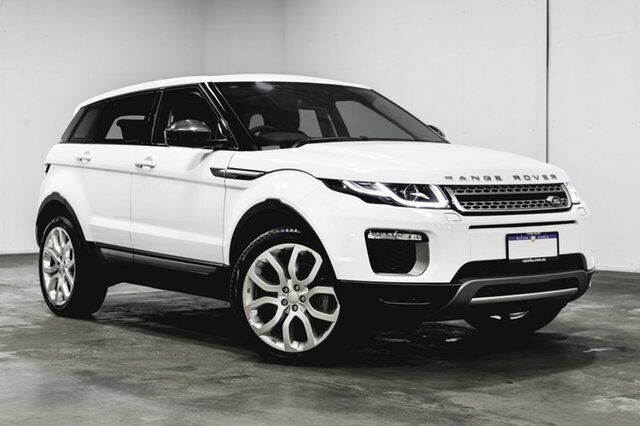 2017 Land Rover Range Evoque L538 My17 Td4 150 Se White 9 Sd Sports Automatic Wagon