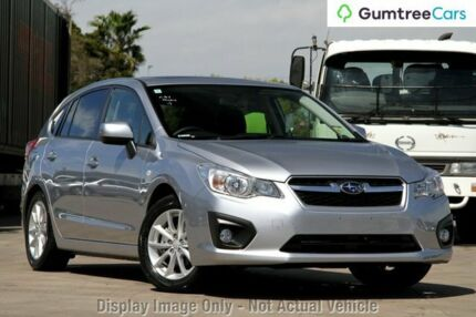 2013 Subaru Impreza G4 MY13 2.0i-L Lineartronic AWD Silver 6 Speed Constant Variable Hatchback Myaree Melville Area Preview