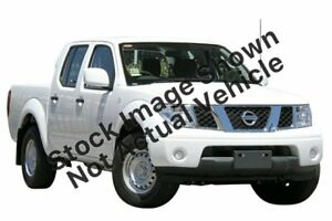 2014 Nissan Navara D40 S8 RX White 5 Speed Automatic Utility Hoppers Crossing Wyndham Area Preview