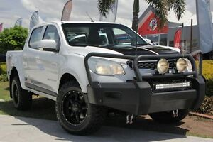 2013 Holden Colorado RG MY13 LX Crew Cab White 6 Speed Sports Automatic Utility Kedron Brisbane North East Preview