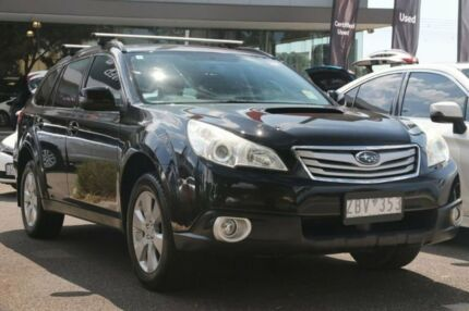 2012 Subaru Outback B5A MY13 2.0D AWD Premium Black 6 Speed Manual Wagon