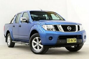 2011 Nissan Navara D40 MY11 ST-X Blue 6 Speed Manual Utility Seven Hills Blacktown Area Preview
