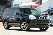 2010 Nissan X-Trail T31 MY10 TI Diamond Black 1 Speed Constant Variable Wagon Hillcrest Logan Area Preview