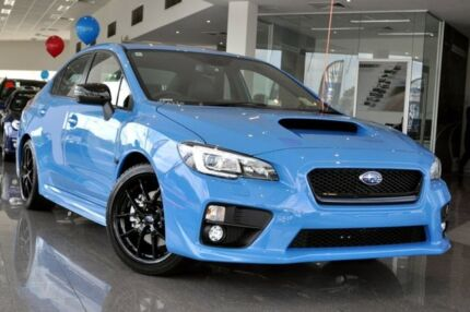 2015 Subaru WRX MY16 Premium (AWD) Hyper Blue 8 Speed CVT Auto 8 Speed Sedan Greenacre Bankstown Area Preview